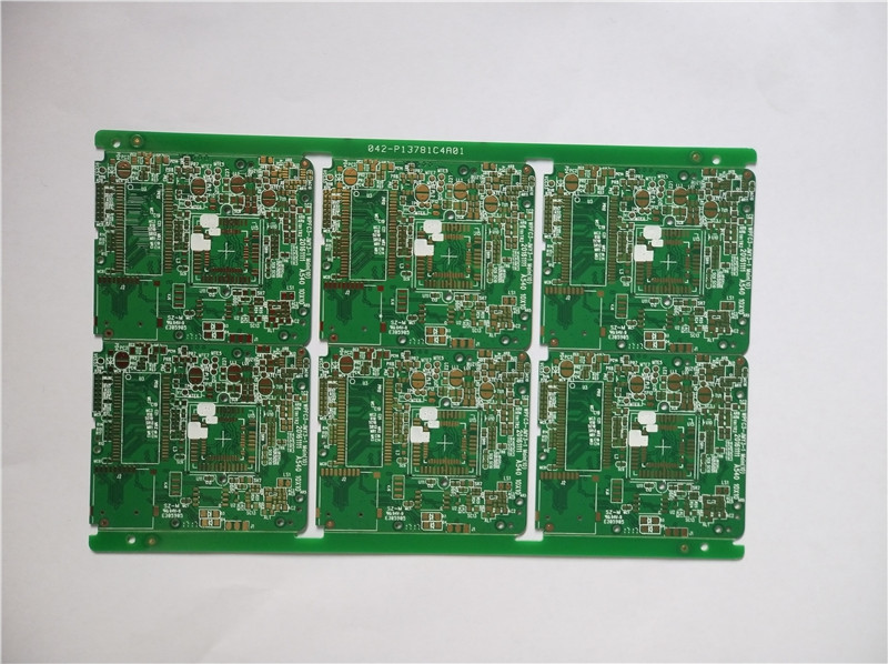 四層綠油沉金相機板